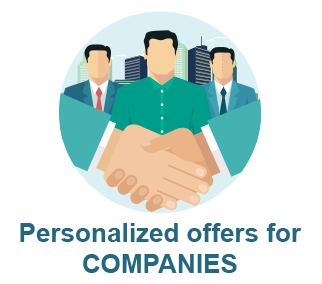 personalized offers for companies
