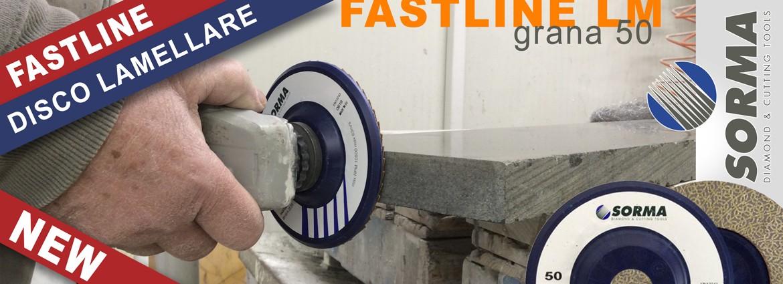 Fastline LM: nuovo disco lamellare grana 50