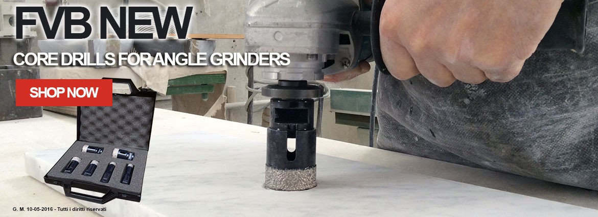 New fvb core drills for angle grinders