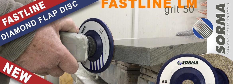 Fastline LM : diamond flap disc grit 50